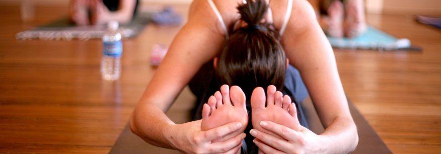 Pieds sains au Yoga