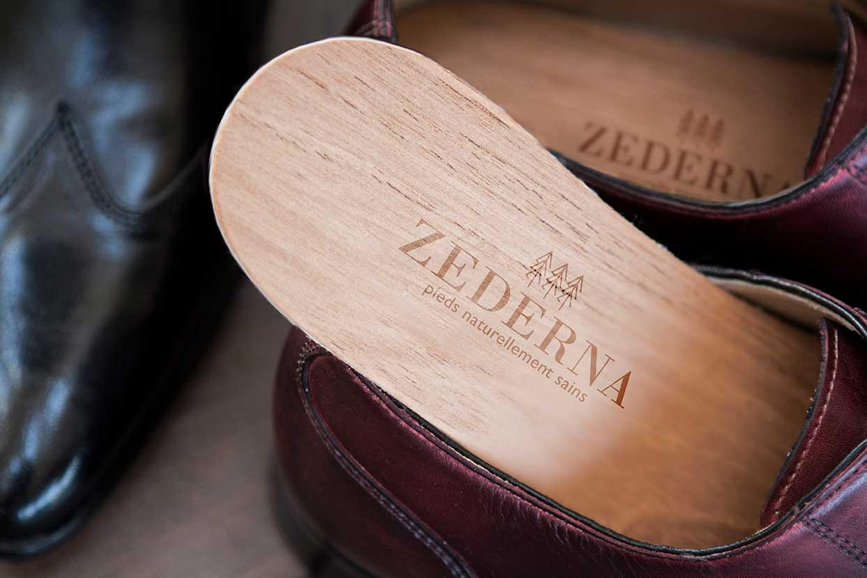 zederna semelles en bois de c dre contre les mauvaises odeurs la transpiration excessive et. Black Bedroom Furniture Sets. Home Design Ideas